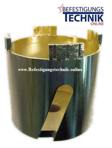 Diamant Dosensenker ⌀ 68 mm 4x Turbosegmente Beton Abrasiv UNI M-16 Premium
