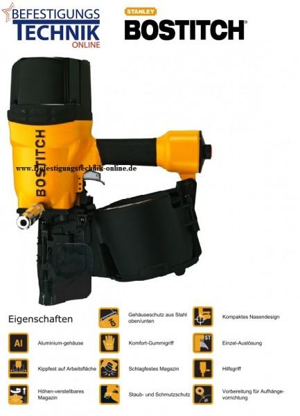 Bostitch Druckluft Coilnagler N512C-2-E (100-130 mm) Industrie