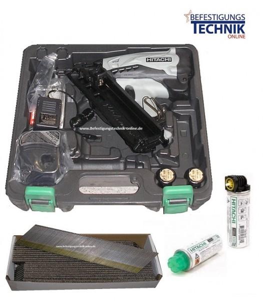 Hitachi Gas Stiftnagler Nagler NT65GA 32-65mm für DA Nägel BR-06+Gas