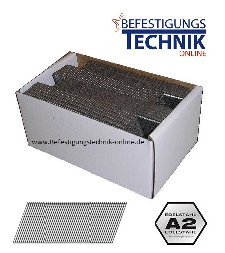 Stauchkopf Nägel 63mm rostfrei für DeWALT Akku Nagler DC618 DCN660 DNBA1663SZ BR-07