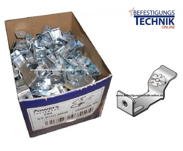 Abhängewinkel für Betonnagler ST-ROD-6MM für M-6 Schraube / Gewindestange