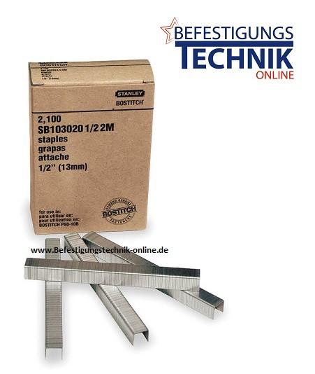 Bostitch Klammern SB10302012Z 12mm verzinkt für P51-10B-E KL-71 2,1M
