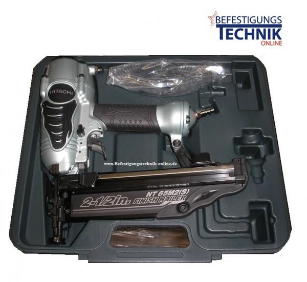 Hitachi NT65M2 (Ø1,6x25-65 mm) Druckluft Stiftnagler BR-04